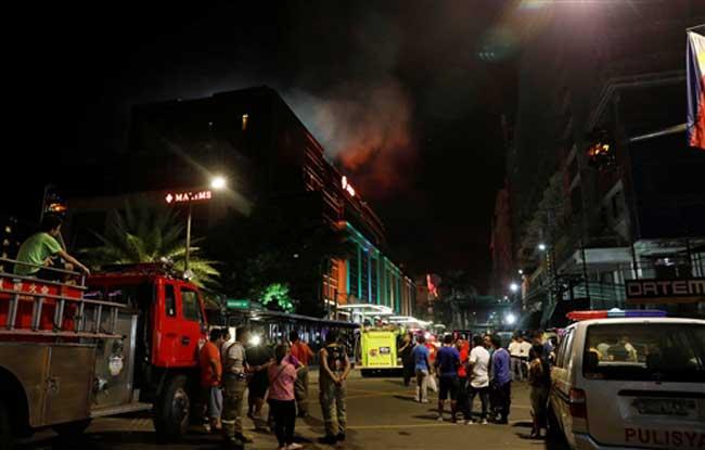 फिलीपींस के कैसीनो में गोलीबारी, हमलावर ने खुद की भी ली जान