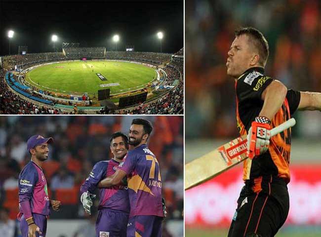 हैदराबाद के इस चक्रव्यूह से कैसे बचेंगी आइपीएल की फाइनलिस्ट टीमें, फोटोज में देखिए