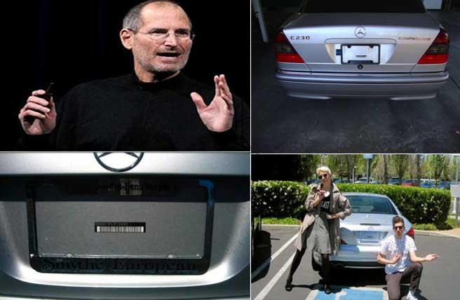 जिंदगीभर बिना नंबर प्लेट की कार में घूमते रहे स्टीव जॉब्स, इस वजह से नहीं पकड़े गए