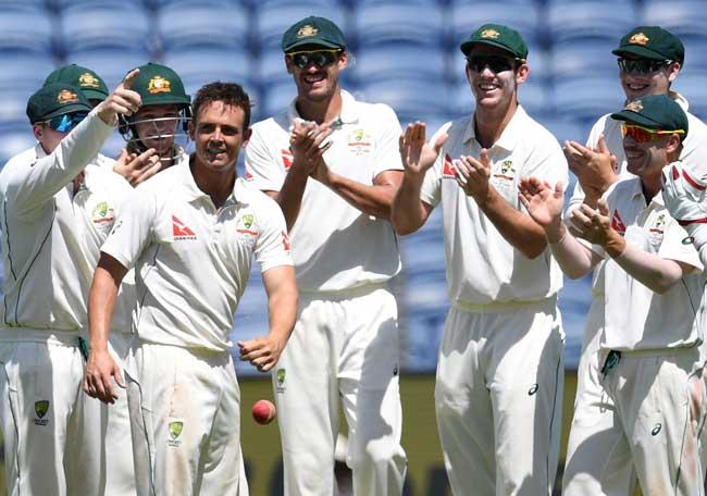 11 रन बनाने में छूटे टीम इंडिया के पसीने, देखें तस्वीरें