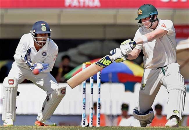 रांची टेस्ट पहला दिन : स्मिथ ने फिर खेली कप्तानी पारी