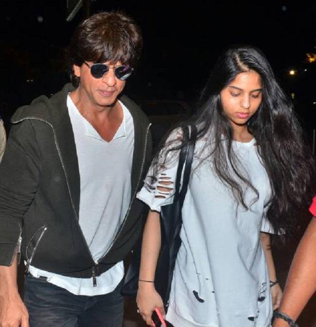 शाहरुख़ खान की बेटी सुहाना के birthday पर देखिए उनके candid pictures