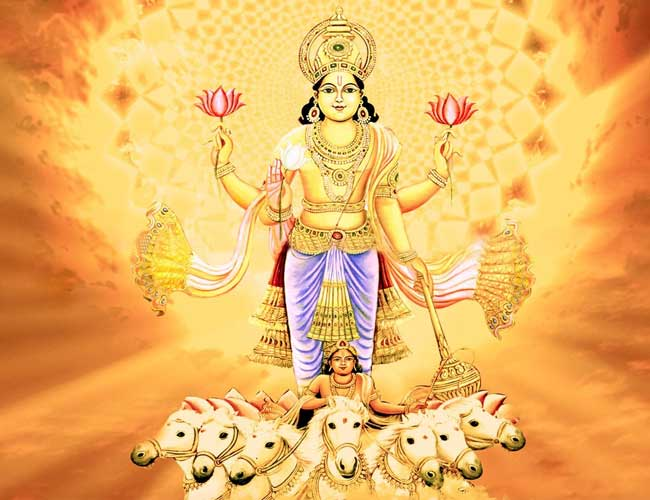 आइए जानते हैं भगवान सूर्य देव के 21 नामों के बारें में