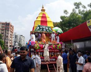 PICS: राजधानी पटना में धूमधाम से निकाली गई भगवान जगन्नाथ की रथ यात्रा