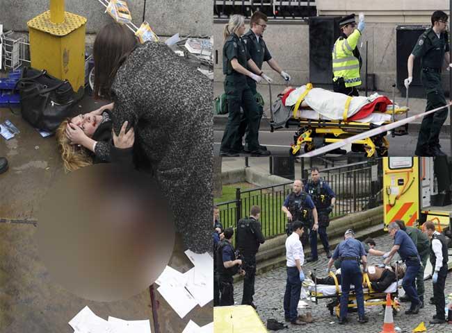 photos: uk की संसद पर हमले का विफल प्रयास , मारा गया हमलावर