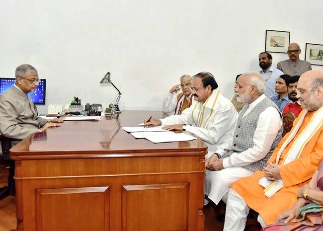 तस्वीरें: दक्षिण भारतीयों का उपराष्ट्रपति पद पर दबदबा रहा है कायम