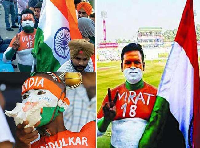 तस्वीरें: विराट कोहली को मिला सचिन और माही से भी बड़ा फैन, नाम है...