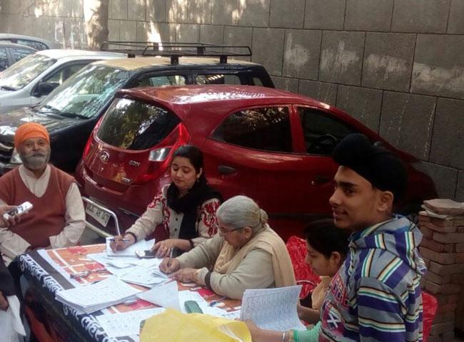 दिल्ली sgpc का चुनाव, देखें राज्यभर की तस्वीरें