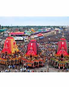 भगवान जगन्नाथ की भव्य रथयात्रा के दर्शन कीजिए तस्वीरों में