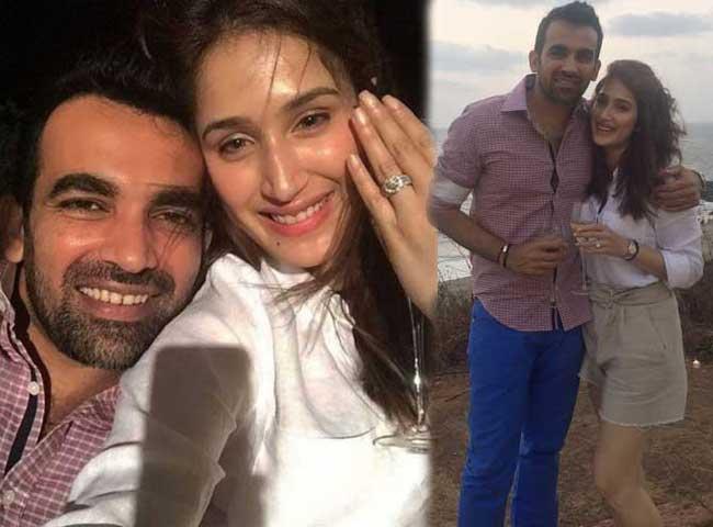 देखें तस्वीरें : क्रिकेटर जहीर ने इस चक दे गर्ल 'सागरिका' से की सगाई, ट्विटर पर की   घोषणा