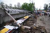 आंधी संग शहर पर बरसी 'आफत' की बारिश
