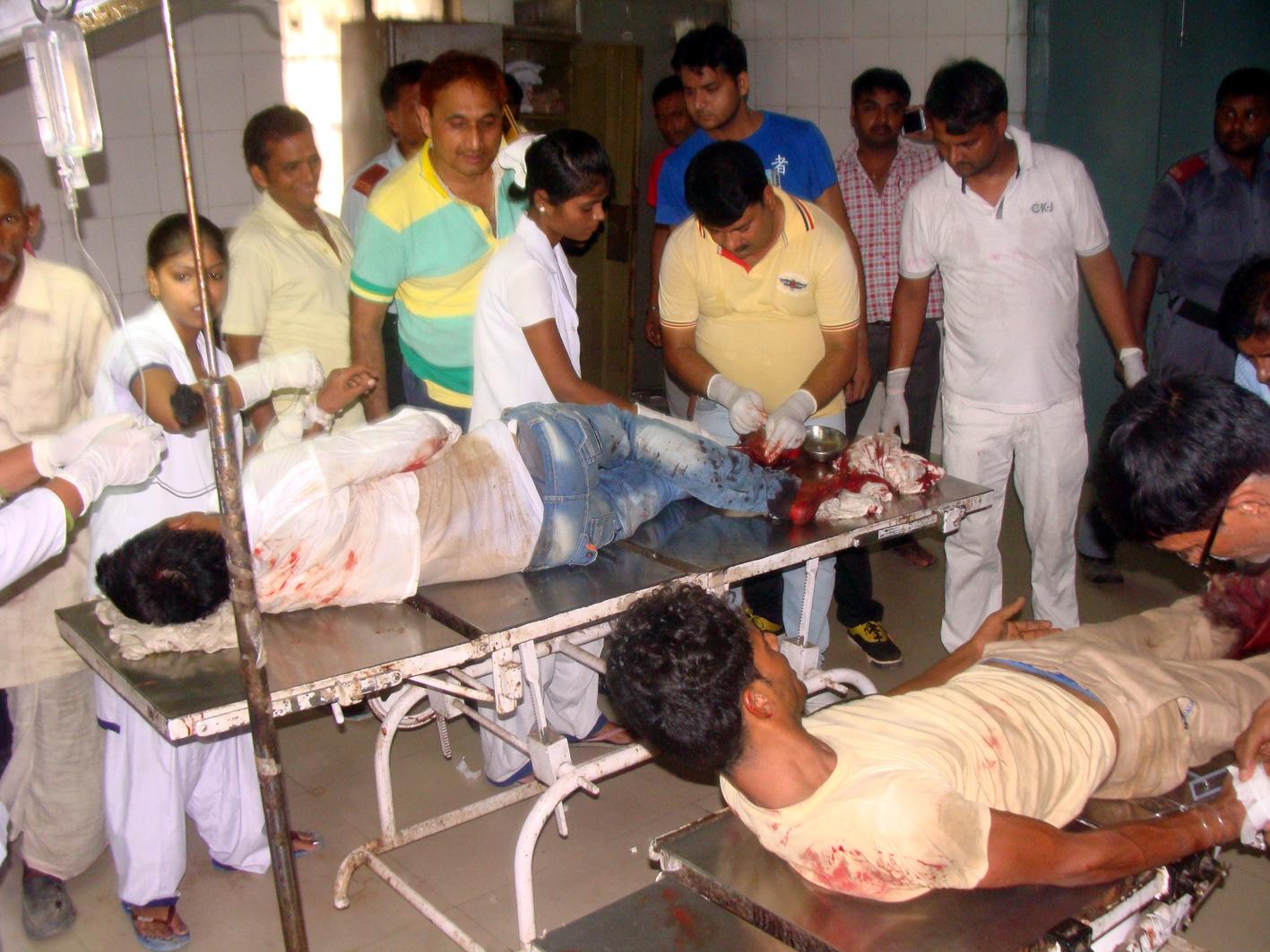 भोजपुर में सड़क हादसे में 6 लोगों की मौत