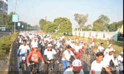 स्टील सिटी जमशेदपुर में दिखी Bikeathon सीजन 9 की दीवानगी, हजारों लोगों ने की साइकिलिंग