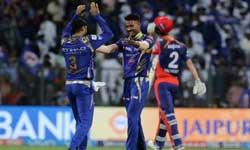 IPL 2017 : 24वां मैच रहा मुंबई इंडियंस के नाम, 14 रनों के साथ दिल्ली डेयरडेविल्स को किया ढेर