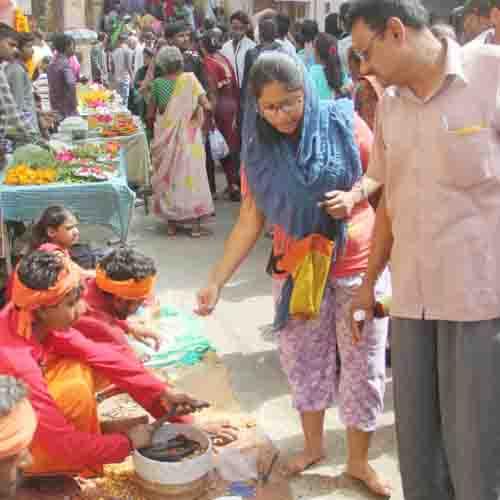 नागदेवता कोचढ़ाया दूध, सर्पदोष से मुक्ति की कामना