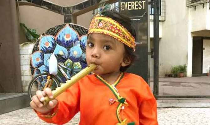 बेटे के कान्हा बनने पर ख़ुश हैं नवाज़ुद्दीन सिद्दीकी