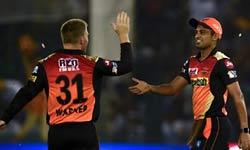 IPL 2017: कप्तान की अगुआई में हैदराबाद ने दिखाया दम तो पंजाब हुआ ध्वस्त