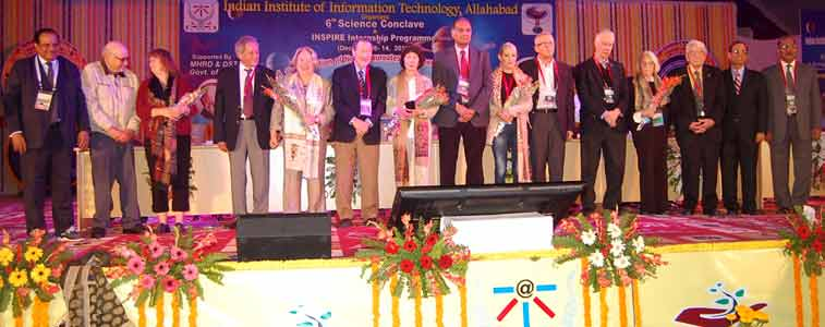 IIIT-A Shines with light of scientific knowledge.