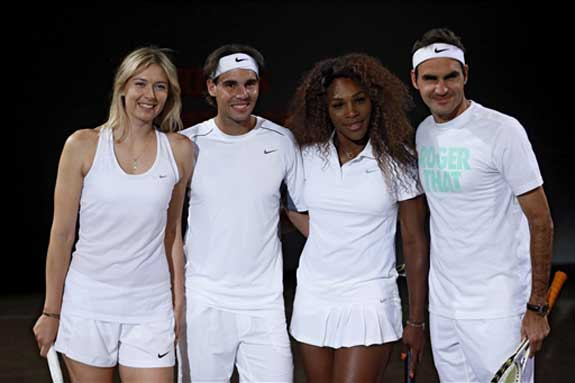 Tennismen and tennis women