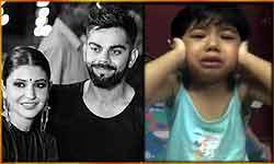 इस नन्हें बच्चे को रोता देख छलनी हो गया विराट कोहली का दिल, तो शेयर कर डाली उसकी कहानी