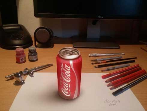 इस कलाकार के पास है जादुई पेंसिल जो बनाता है दिखने लगती है रीयल