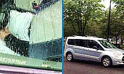 खुल गया ड्राइवरलेस कार का भेद, इस रिपोर्टर ने खोज निकाला छिपा हुआ ड्राइवर