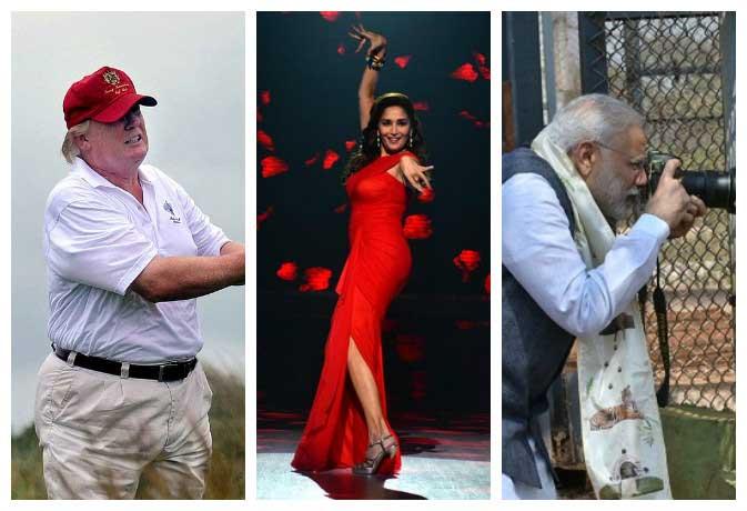मोदी करते हैं फोटोग्राफी तो अंबानी को पसंद हैं हिंदी फिल्में, जानिए अपनी फेवरेट हस्तियों की हॉबीज