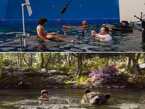 जाने कैसे VFX के कमाल से दमदार बने फिल्म द जंगल बुक के दृश्य