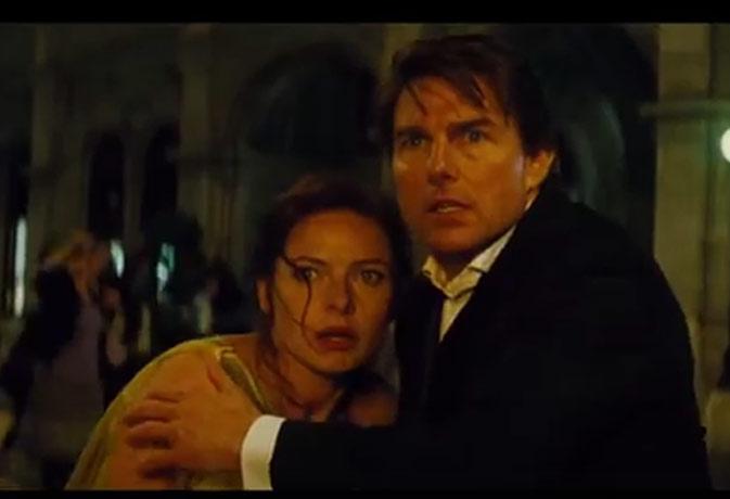 Movie review : एक्शन का तड़का लगाकर रोमांच पैदा करती है 'Mission Impossible 5'