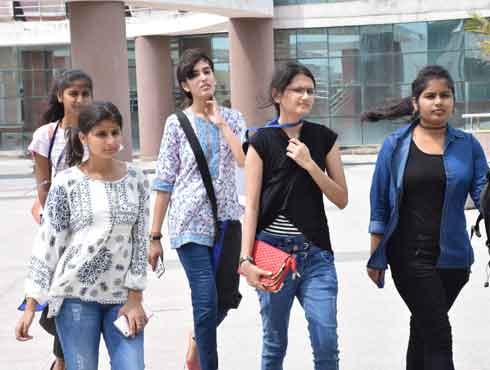 The orientation for freshers at NIFT Campus