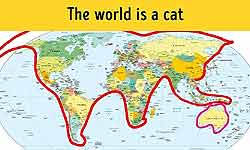 भूगोल कै मैप्स इतने मजेदार तो कभी न थे, दिल खुश कर देंगे ये 8 नक्शे