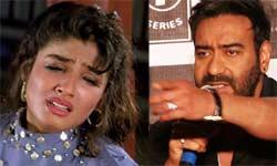 जब अजय के लिए रवीना ने की थी सुसाइड की कोशिश