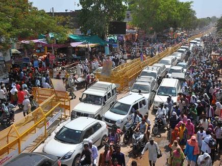 सिंहस्थ:यातायात प्रबंधन ध्वस्त, हज़ारों वाहन फंसे