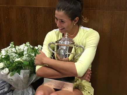 सेरेना को हरा कर मुगुरुजा ने जीता फ्रेंच ओपन खिताब