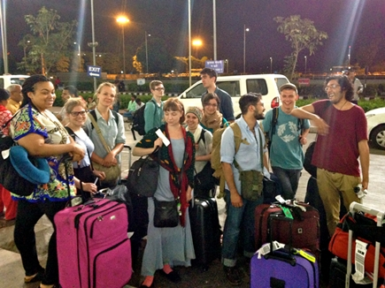 ahmedabad airport foreigner 20 11 2015