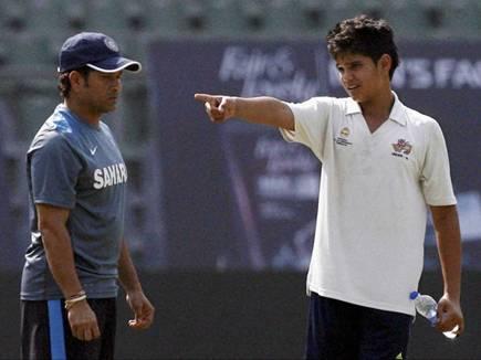 अर्जुन सचिन तेंदुलकर पश्चिम क्षेत्र की अंडर-16 टीम में
