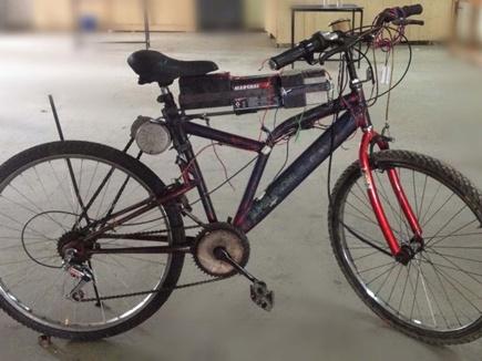 15 हजार में बनाई हाइब्रिड इलेक्ट्रिक साइकिल,  चलेगी 70 किमी