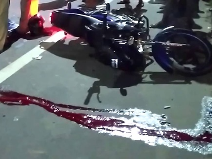 bike accident 15 11 2017