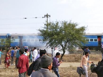 पैसेंजर ट्रेन  धमाका आंतकी हमला,दो संदिग्धों पिपरिया में धराए,लखनऊ  मे
