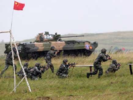 भारत-पाक सीमा के पास चीनी सेना ने शुरू किया बड़ा सैन्य अभ्यास