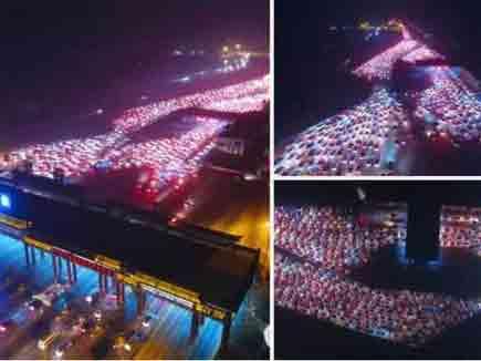 चीन में लगा 50 किमी लंबा ट्रैफिक जाम!