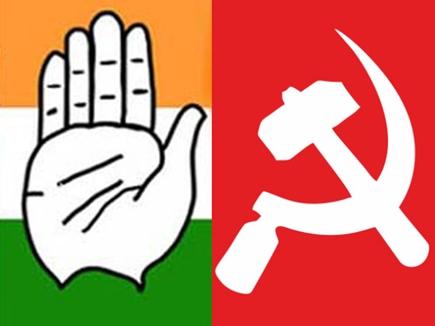 Image result for माकपा और कांग्रेस