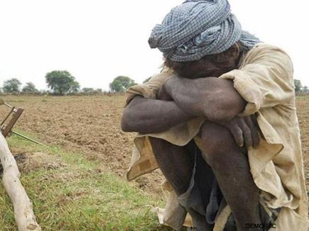 सूखा पीड़ित किसान को मुआवजे में दिए 40 पैसे