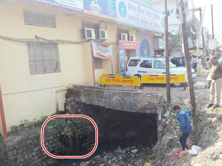 जबलपुर की एसबीआई बैंक में सुरंग !