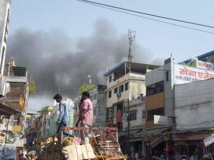 इंदौर रानीपुरा में आग
