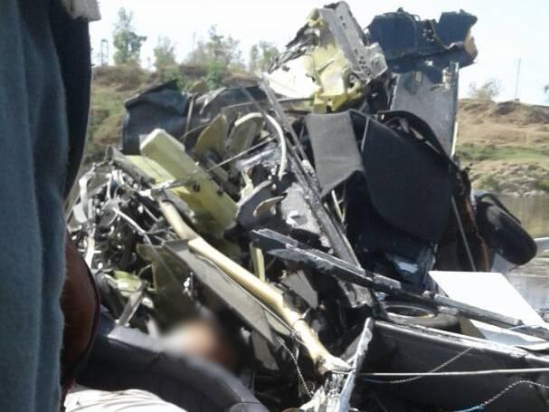 मप्र: हेलीकॉप्टर क्रैश,महिला ट्रेनी समेत 2 मरे