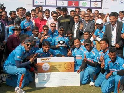 पाकिस्तान को हराकर भारत ने जीता T-20 ब्लाइंड विश्वकप, पीएम मोदी ने दी