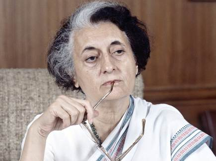 पाक के परमाणु ठिकानों पर  थी  इंदिरा गांधी की नजर
