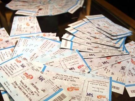 आईपीएल मैच की टिकट ब्लैक करते व्यवसायी गिरफ्तार