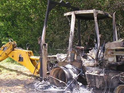 jcb burn 19 05 2017